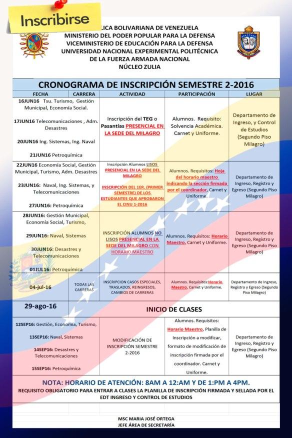 CRONOGRAMA-DE-INSCRIPCIÓN-SEMESTRE-2-2016-definitivo